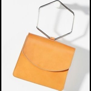 Brand New Anthropologie Nova Hexagon Clutch